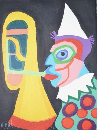Aquatint Appel - Amsterdam clown