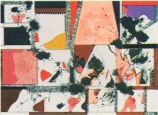 Lithograph Guinovart - Amsterdam n°1