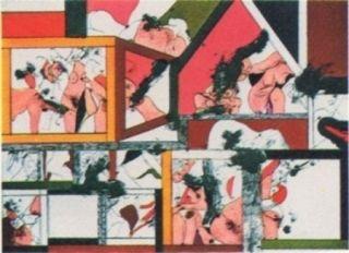 Lithograph Guinovart - Amsterdam n°2