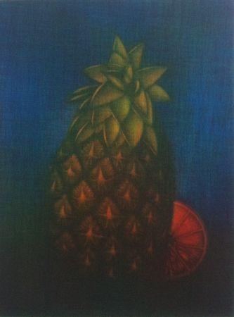 Mezzotint Schkolnyk - Ananas