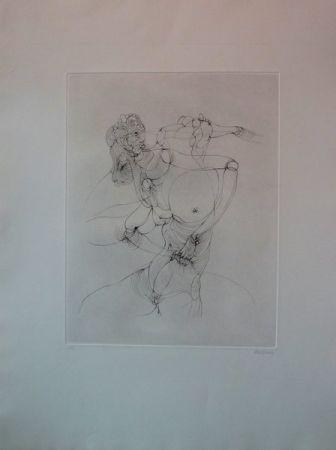 Etching Bellmer -  Anatomie De L'image