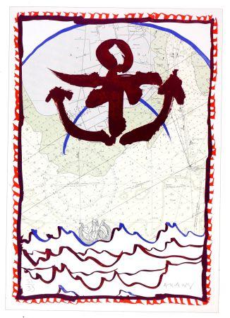 Lithograph Alechinsky - Ancrage d'encre