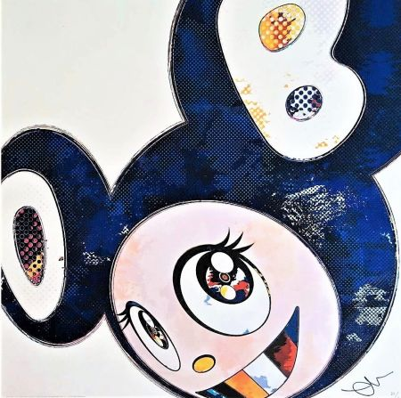 Lithograph Murakami - And Then...(Blue)