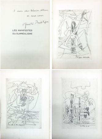 Illustrated Book Matta - André Breton : Les Manifestes du Surréalisme suivis de Prolégomènes à un troisième manifeste du surréalisme ou non. Avec 3 pointes-sèches de Matta