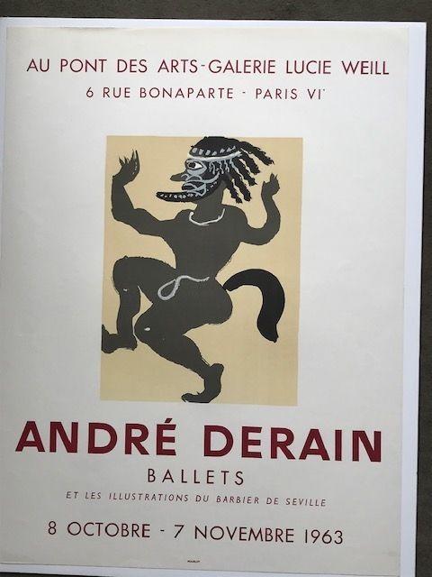 Poster Derain - André Derain 'ballets '