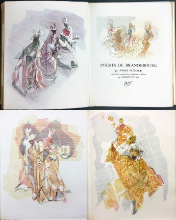 Illustrated Book Villon - André Frénaud : POÈMES DE BRANDEBOURG (1947)