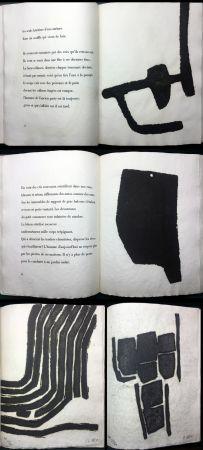 Illustrated Book Ubac - André Frénaud :VIEUX PAYS suivi de Campagne (1967). Avec suite signée.