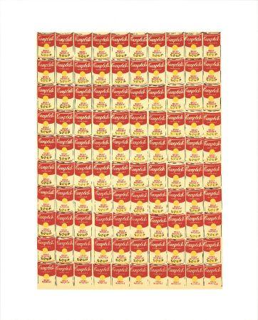 Screenprint Warhol - Andy Warhol '100 Cans' 1991 Original Pop Art Poster