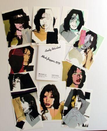Multiple Warhol - Andy warhol mick jagger 1975