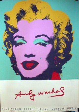Screenprint Warhol (After) - Andy Warhol Retrospektive-Museum Ludwig, 1989