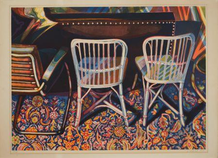 Aquatint Nesbitt - Andy Warhol's Studio