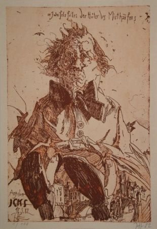 Illustrated Book Janssen - Angeber Icks. 1ne Quijoterie (Eine Quijoterie).