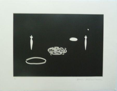 Lithograph Kuroda - Angel City II