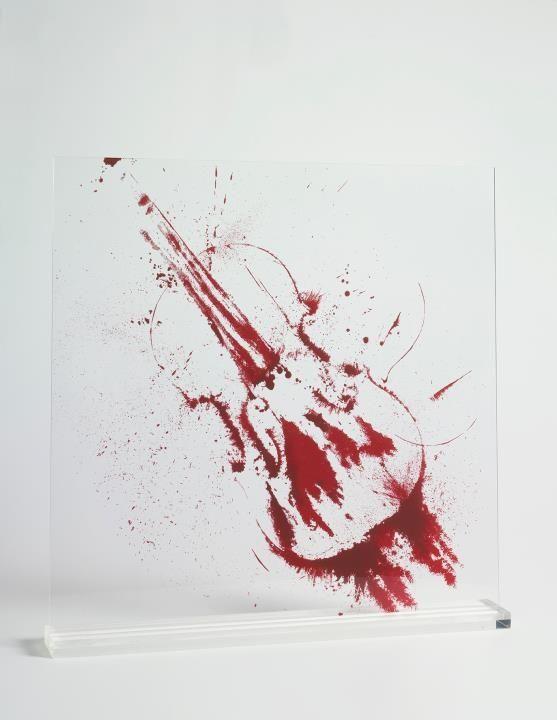Screenprint Arman - Angry violin