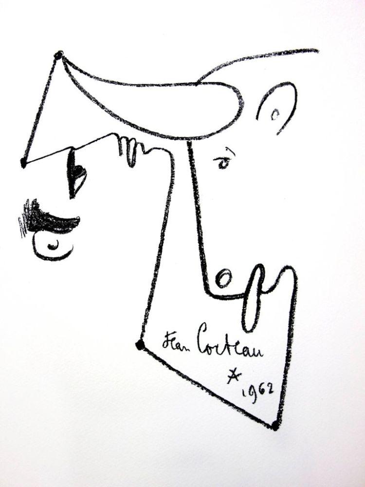 Lithograph Cocteau - Animalisme
