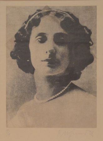 Etching Pfund - Anna Pawlowna Pawlowa (1881-1931)