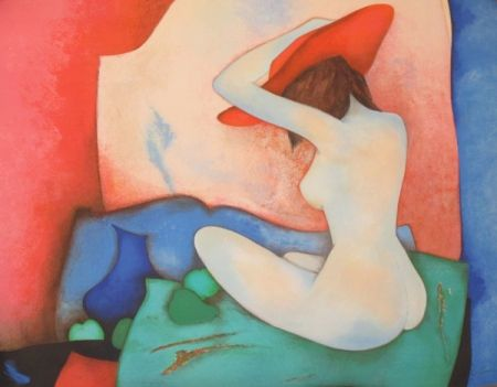Lithograph Gaveau - Annabelle