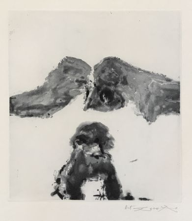 Etching And Aquatint Zao - Annonciation and Moments (385)