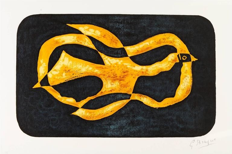 Lithograph Braque - Antiborée