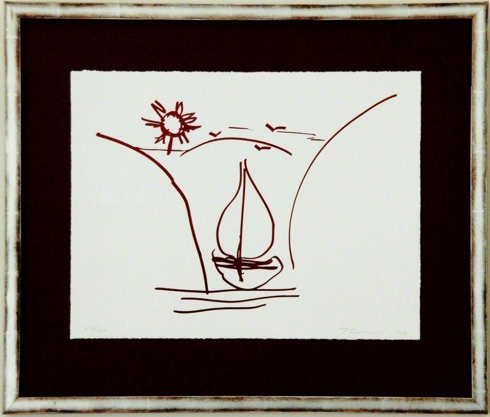 Screenprint Koons - Antiquity drawing