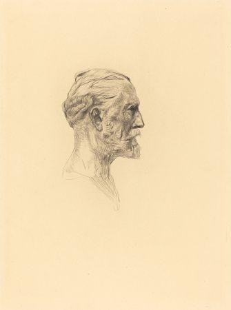 Drypoint Rodin -