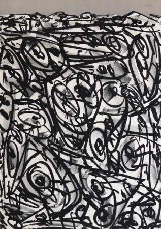 Lithograph Saura - Antonio Saura