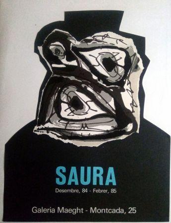 Poster Saura - ANTONIO SAURA - MAEGHT - DESEMBRE 84 / FEBRER 85