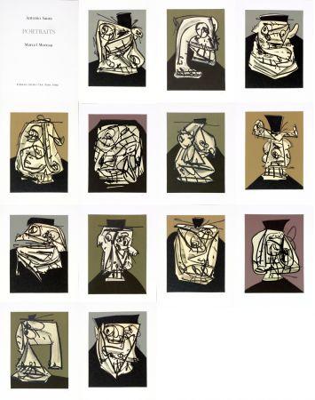 No Technical Saura - Antonio Saura/Portrait/Marcel Moreau/Edtions Atelier Clot