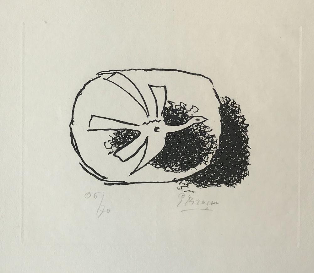 Etching Braque - Août