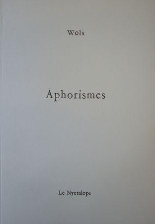 Illustrated Book Wols - Aphorismes