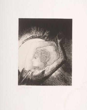 Lithograph Redon - Apocalypse de Saint-Jean