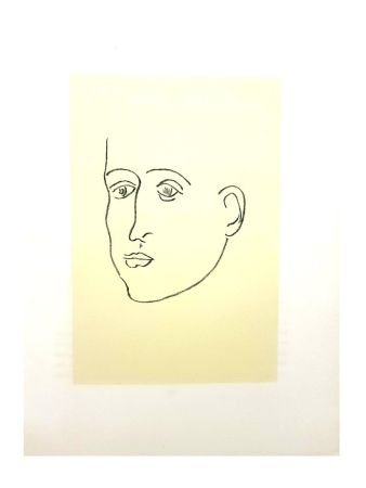 Lithograph Matisse - Apollinaire