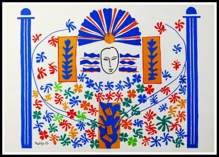 Lithograph Matisse (After) - APOLLON