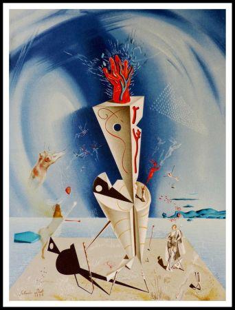 Lithograph Dali - Appareil et Main