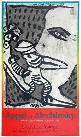 Poster Alechinsky - Appel & Alechinsky 1982