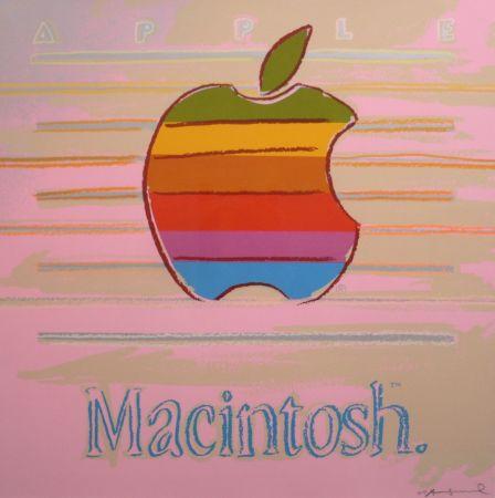 Screenprint Warhol - Apple (FS II.359)
