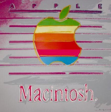 Screenprint Warhol - Apple (FS II.359) Trial Proof