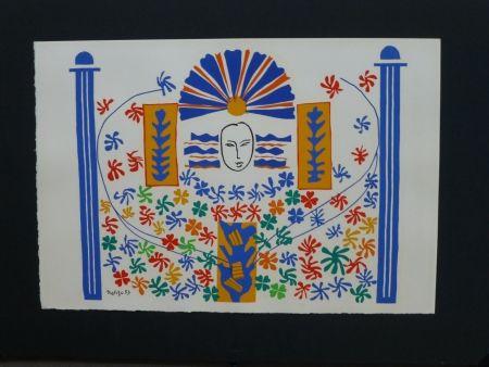 Lithograph Matisse - Appolon