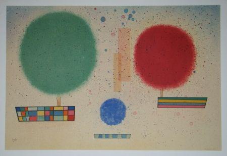 Lithograph Kandinsky - Aquarelle, 1932