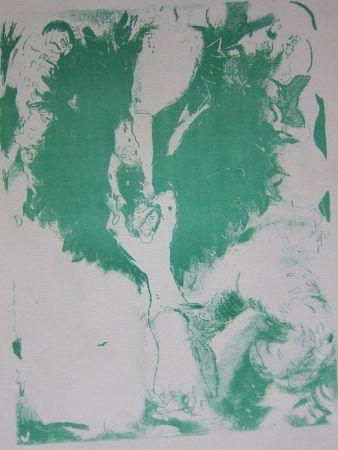Lithograph Chagall - Arabian nights