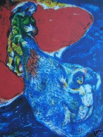 Lithograph Chagall (After) -
