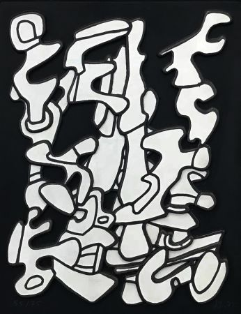 Screenprint Dubuffet - ARBORESCENSES I