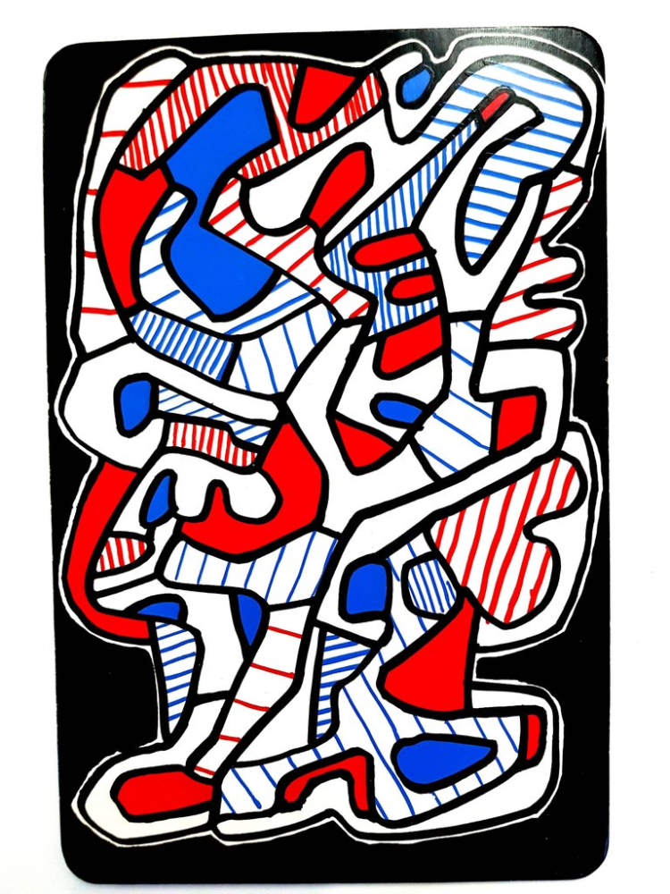 Lithograph Dubuffet - Arbre
