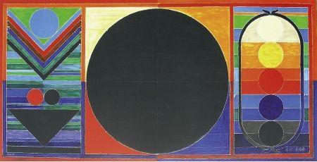 Lithograph Raza - Arbre, bindu cinq éléments