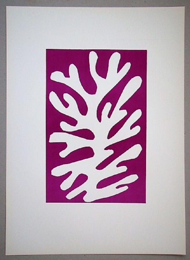 Lithograph Matisse - Arbre de neige