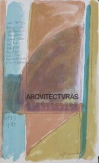 Lithograph Ràfols Casamada - ARCHITECTES