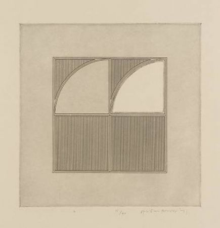 Etching House - Arcs with a Square