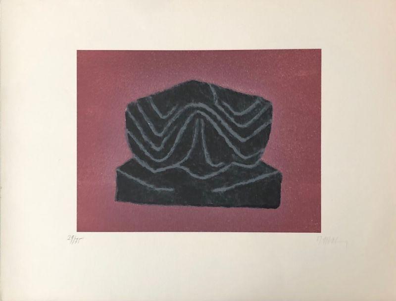 Lithograph Ubac - Ardoise