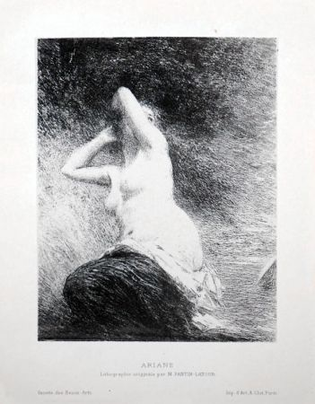 Lithograph Fantin-Latour - Ariane