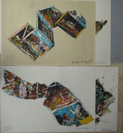 Lithograph Morley - Arles MIami